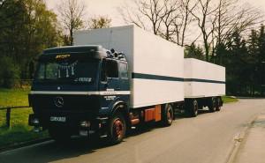LKW Transport Anfang der 90er