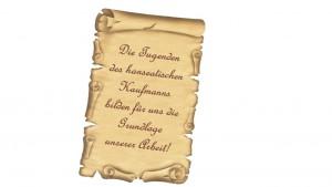 Wilhelm Bartels Spedition Slogan altdeutsch